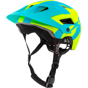 O'Neal Defender 2.0 Casque, sliver neon yellow/blue